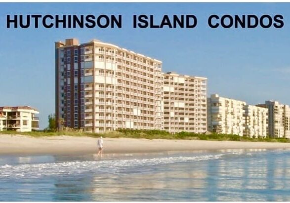 Picture of an oceanfront condo at the beach.
